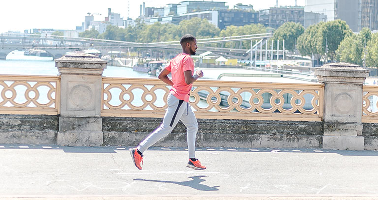Jogging à Paris
